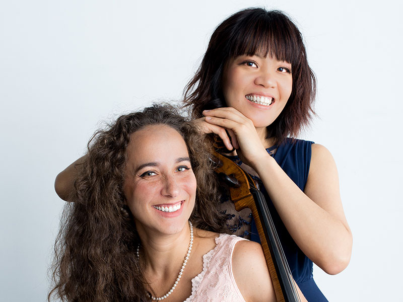 Chloe Dominguez & Janelle Fung play piano and cello in Prairie Debut's 2019-20 classical music concert tour.