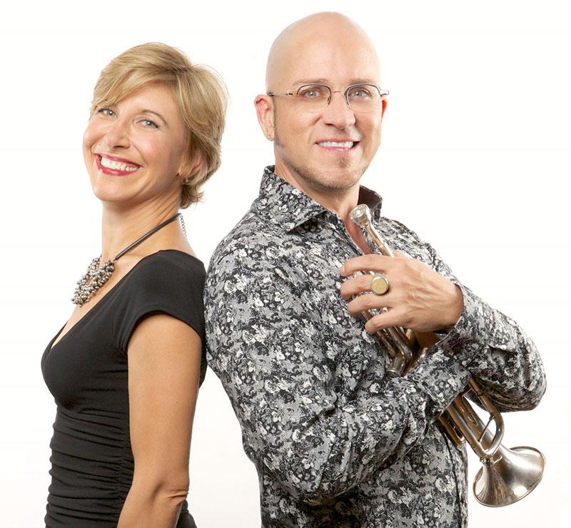 Guy Few and Stephanie Mara