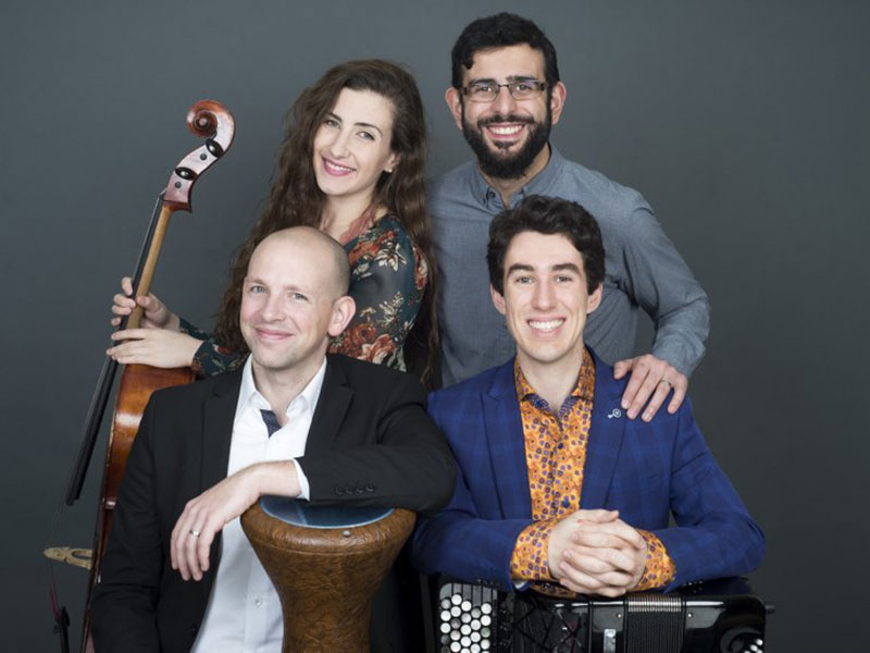 Prairie Debut's 2019-20 season presents Ladom Ensemble, a chamber and world music concert tour.