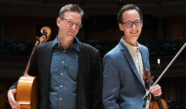 Robert Uchida and Rafael Hoekman