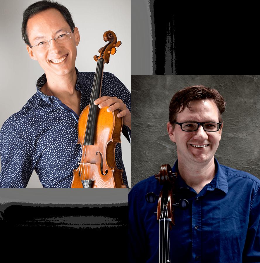 Robert Uchida violin / Rafael Hoekman cello