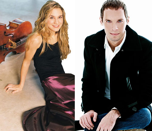 Denise Djokic, cello and David Jalbert, piano