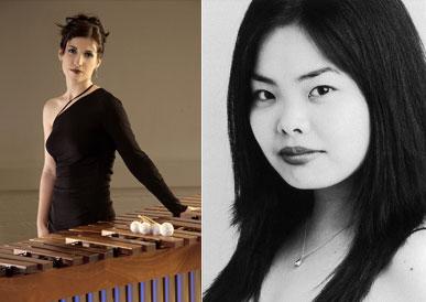Anne-Julie Caron, marimba with Akiko Tominaga, piano