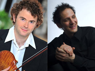 Jean-Sébastien Roy, violin with Mathieu Gaudet, piano