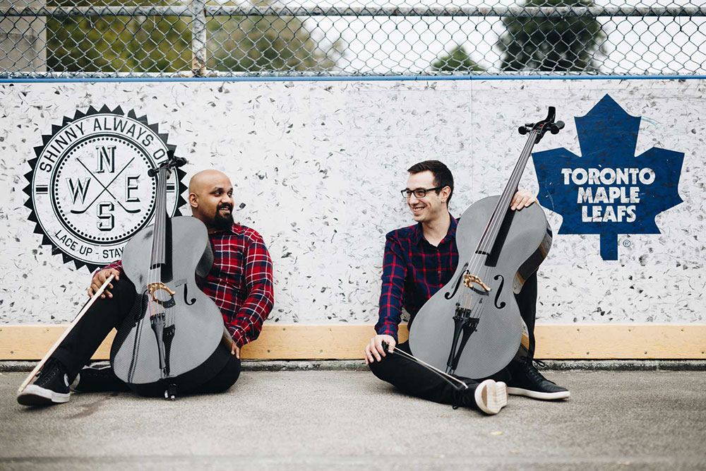 A conversation with VC2 Cello Duo